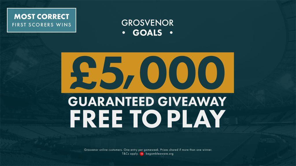 Grosvenor Goals GW36: Prediksi Pencetak Gol Pertama