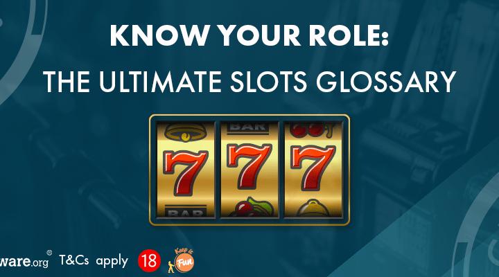 Slots glossary banner Grosvenor Casinos