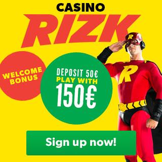 Rizk deposit bonus