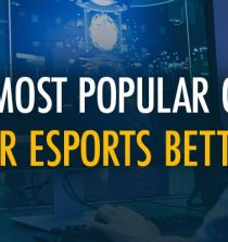 Most popular games for esports betting
